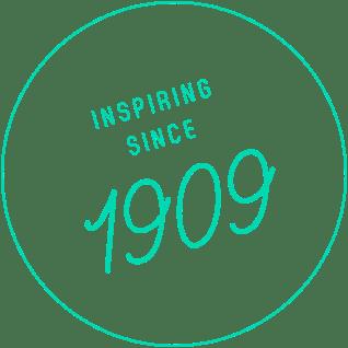 inspiring since 1909